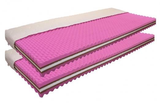 Kokosové matrace 1+1 (190x80) HORTENZIE (2ks)
