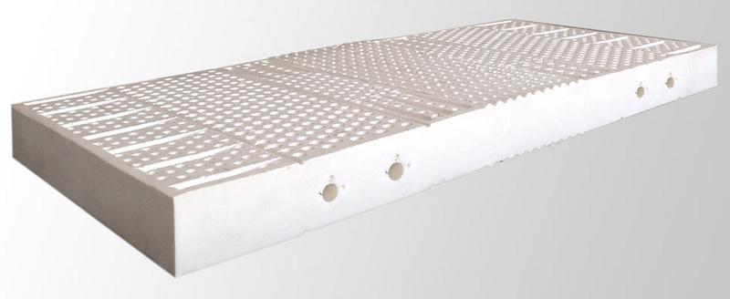 Luxusní latexová matrace LATEX 7 EXCLUSIVE 200 x 200 cm