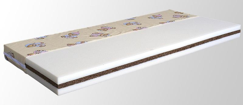 Kokosová matrace do dětské postýlky MARCELKA NATUR 120 x 60 cm